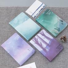 دفتر ملاحظات بغلاف مقوى أوراق لطيفة جيب مجلة مخطط فارغة دفتر مذكرات مع لون الصفحة دفتر المدرسة التموين