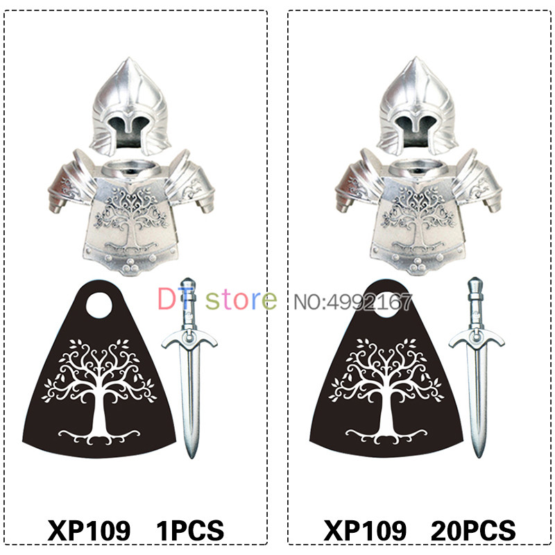 Lord Of The Rings Knight Soldier Of Gondor Heavy Spear Sword Toys KT1014  Legocity Legoes From Z_toys, $48.65| DHgate.Com