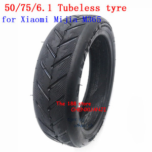 50/75-6.1 Tubeless Tire 8 1/2x2 Tyres For Xiaomi Mijia M365 Electric Scooter Pneumatic Thick Strong For 8.5 inch Kick scooter(China)