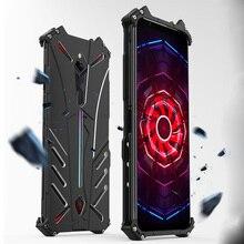 For ZTE nubia Red Magic 3 3s Case R JUST Shockproof Luxury Aluminium Metal Case For Red magic 3 Phone Cover Coque Red magic 3s