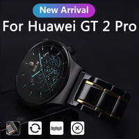 20 22mm Keramik Uhr Armband Für Huawei GT2 Pro Top-qualität Uhr Strap Für Huawei Uhr GT 2 pro 46mm Band Für garmin venu SQ
