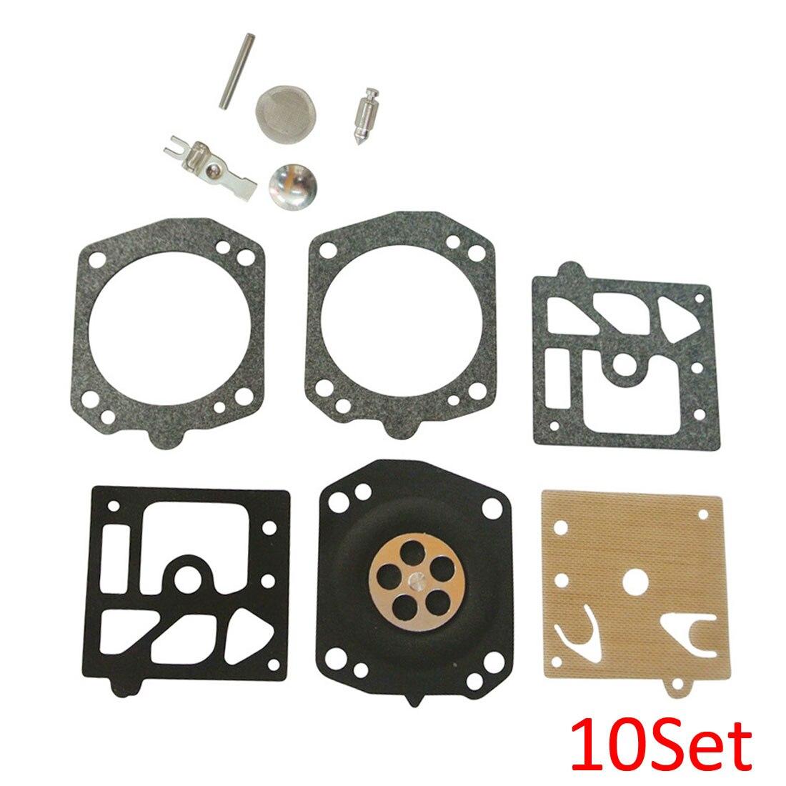 Carburetor Repair Rebuild Overhaul Kit 4 Walbro K24-HDA K24HDA Fit HUSKY 359 357