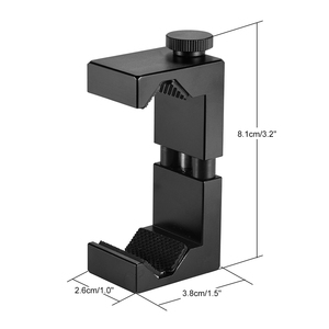 Image 5 - Ulanzi Metal Smartphone Clip Holder Frame Case Bracket Mount for iPhone for Huawei Samsung Portrait Outdoor Video Photography