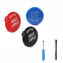 Car Button Sticker for BMW X1x3x5 Series Car Engine Start Stop Switch E87 E90 E91 E92