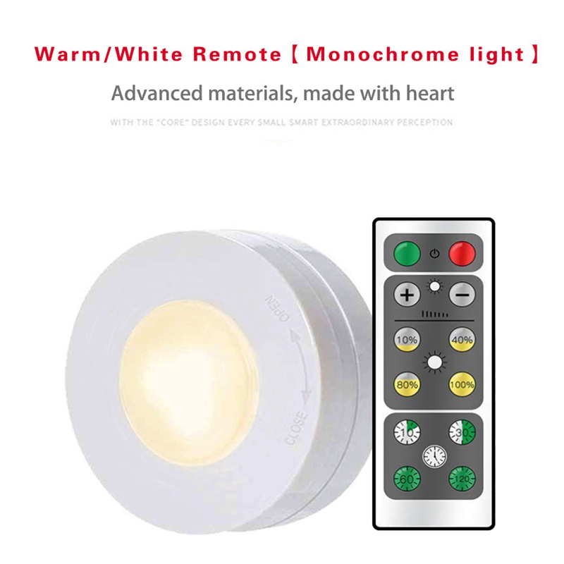 Led Cabinet Closet Lamp Rc Night Lights