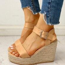 Karinluna Wholesale Leisure Large Size 43 Platform Summer Sandals Shoes