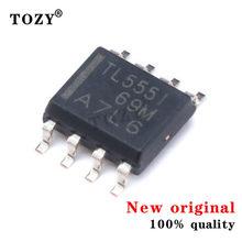 10pcs / lot new original Tlc555idr LINCMOS single channel timer / oscillator