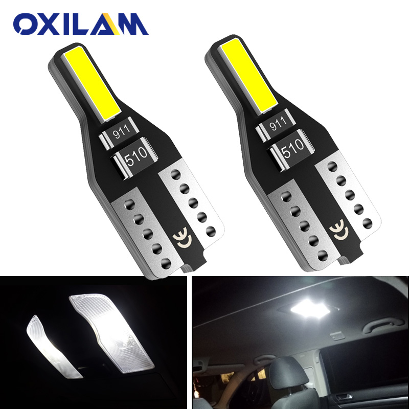 T10 LED BULB W5W LED White Car Interior Lights Dome Reading Lamp for <font><b>Citroen</b></font> C4 Picasso <font><b>Berlingo</b></font> Xsara C5 C3 Saxo C2 C1 C4L DS3 image