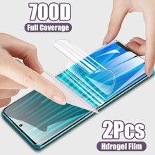 2 adet 200D hidrojel Film Redmi için not 9 8 7 K20 K30 Pro 9S ekran koruyucu Film xiaomi Mi 10 Mi 9 9T Pro SE Mi 8 A3 Film