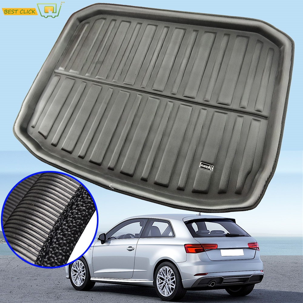 Boot Liner Trunk Mats For Audi A3 S3 RS3 8v Sportback Hatchback 2013 - 2018 Rear Cargo Floor Tray Mat 2014 2015 2016 2017