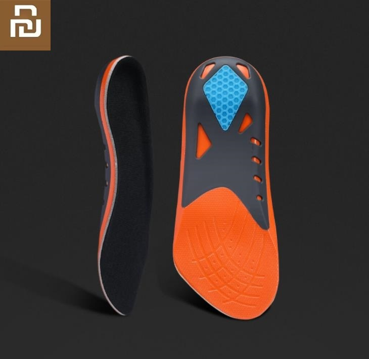 Youpin Arch Support Sports Cushioning Seven-point Pad Unisex Sports Shoe Pad Running Gel Insoles Foot Care Tools