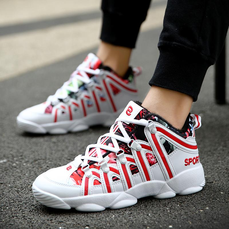 Unisex Boots Men Casual Plus velvet Boots Shoes Brand Walking Breathable Footwear Shoes Male Designer Flats Women's Warm Boots