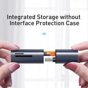 Image 4 - Baseus 2 in 1 Kartenleser USB 3,0 Typ C zu SD Micro SD TF Adapter für PC Laptop OTG kartenleser Smart Memory Microsd Kartenleser