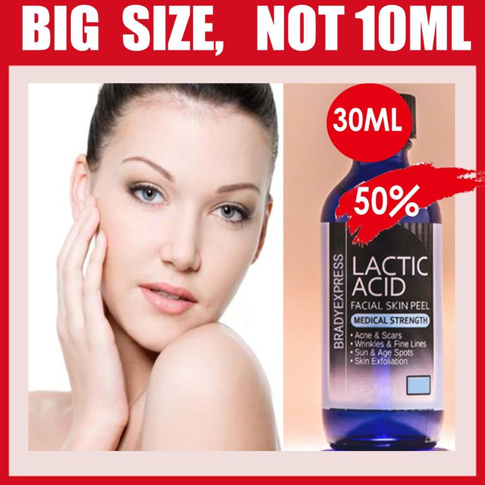 LACTIC ACID AHA SKIN PEEL 50% ACNE TREATMENT SKIN LIGHTENING WRINKLE ANTI-AGEING