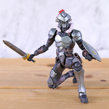 Figma 424 Goblin Slayer Joint Movable PVC Action Figure Anime Brinquedo Model Toy 1