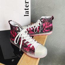Wiosenna Retro czerwony liść wzór męskie brezentowe buty za kostkę Superstar nadruk w kwiaty buty designerskie trampki dla mężczyzn espadryle tanie tanio WSNG PŁÓTNO CN (pochodzenie) Fabric Drukuj Na wiosnę jesień Sznurowane Mieszkanie (≤1cm) Dobrze pasuje do rozmiaru wybierz swój normalny rozmiar