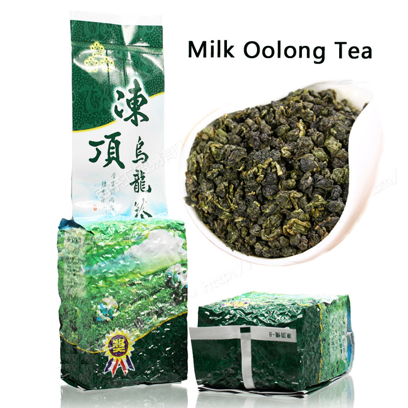Tea Taiwan Dongding Oolong Green Tea High Mountains Jin Xuan Milk Oolong Tea Green Tea 250G 500G Losing Weight