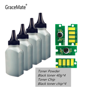 GraceMate Black Toner Powder and Chip Compatible XEROX Phaser 6510 WorkCentre 6515 6515dni Extra Capacity Toner Cartirdge us eu full japanese imported colored powder color toner compatible for xerox phaser 6510 6510dn workcentre 6515n color toner