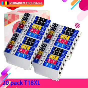 QSYRAINBOW compatible ink cartridge 1811 T 1811 for Epson xp-325 xp-405 XP-405 XP-215 - XP-412 XP-315 xp XP-212 printer t2971 ink cartridge xp231 xp241 t2971 t2964 ink cartridge with one time chip for epson xp231 xp 231 xp 241 xp 431 inkjet printer