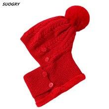 Sets Hats Women Winter Knitted Skullies Beanies Hat For Female Ear Protection Mask Warm Velvet Hat Thick Woolen Riding Hat цена в Москве и Питере