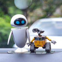 Car Ornaments Robot Doll Car Interior Decoration Auto Center Console Decoration Araba Aksesuar Car