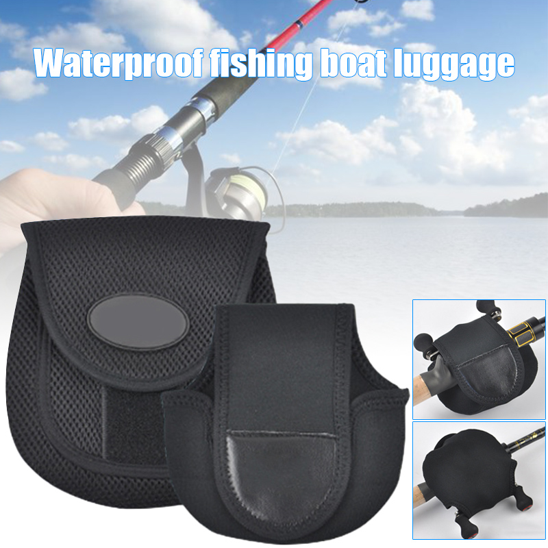 Neoprene Fly Fishing Reel Storage Bag Protective Cover Case Pouch Holder CYC