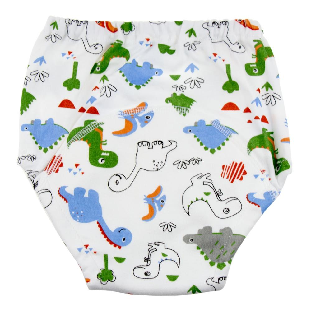 Cute Baby Potty Training Pants Nappies For Toddler Boys And Girls 4Layers 6 Layer Cotton Cloth Diapers Panties Washable Reusable