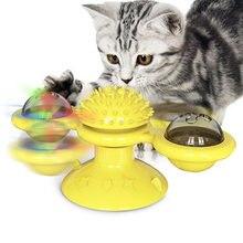 Интерактивная игрушка для кошек с поворотным механизмом