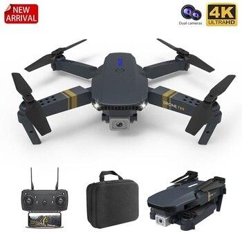 F89 składany Quadcopter z szerokim kątem 4K 1080P 720P podwójny aparat RC Drone wysokość trzymaj długi na baterie życie prezent dla dziecka zabawka