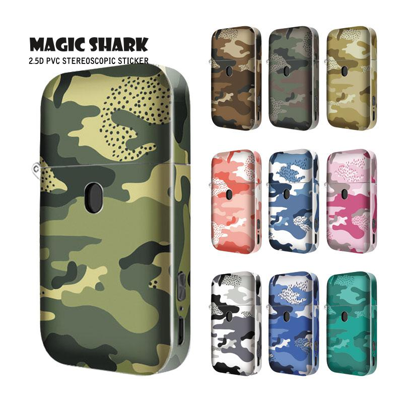 Magic Shark Camouflage Military Army High Quality 2.5d Ultra Thin Sticker For Aurora Play Case Cover Wrap Film For Aurora Play