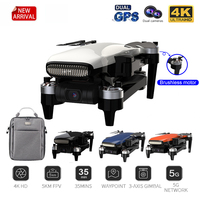 CLFY Glauben 2 Drone 4K Professionelle eders HD Kamera 3-Achsen Gimbal Quadcopter 35min Flug RC Faith2 5KM SG906 PRO 2 X8SE F11 PRO