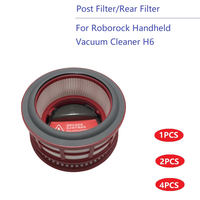 Hepa Post Filter For Roborock Handheld Cordless Vacuum Cleaner H6 Replacement Spare Parts Mace Rear Filter