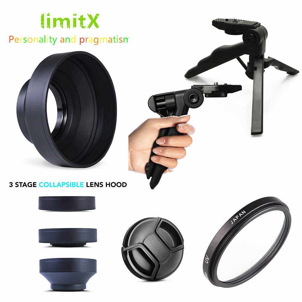 + Lens Cap Holder Nw Direct Microfiber Cleaning Cloth for Panasonic HC-V750 49mm Lens Cap Side Pinch