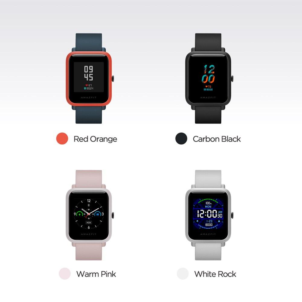 В наличии Новые 2020 глобальная версия Amazfit Bip S смарт часы 5ATM Smartwatch GPS ГЛОНАСС Bluetooth для телефона Android-3