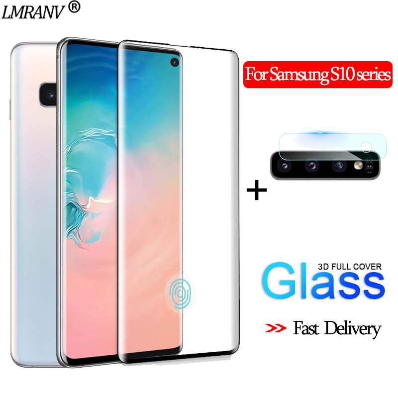 2-in-1 Camera Glass For Samsung S10-e 3D Protective Glass For SamsungA50 Screen Protector S10Plus Tempered Glass For Samsung S10