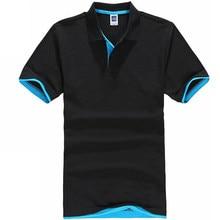 Polo de manga corta de algodón para hombre, camisa deportiva de marca, informal, para verano