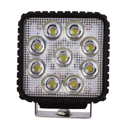 4 inches square 27 w working light off-road vehicles refitted dome light led car headlights car light
