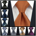 Красочный Роскошный очень длинный синий мужской галстук 160 см 63 дюйма Свадебные Галстуки для темно-синих цветов рождественский подарок Пря...