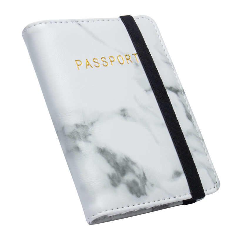 2020 nouveau passeport russe couvre pour Documents de voyage femmes carte de crédit titulaire Vintage passeport couverture portefeuille sac à main