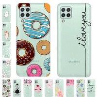 Para Samsung Galaxy A22 4G caso suave transparente TPU Funda de silicona cubierta del teléfono para Samsung A22 4G A225F A22 5G caso 22 5G claro Funda