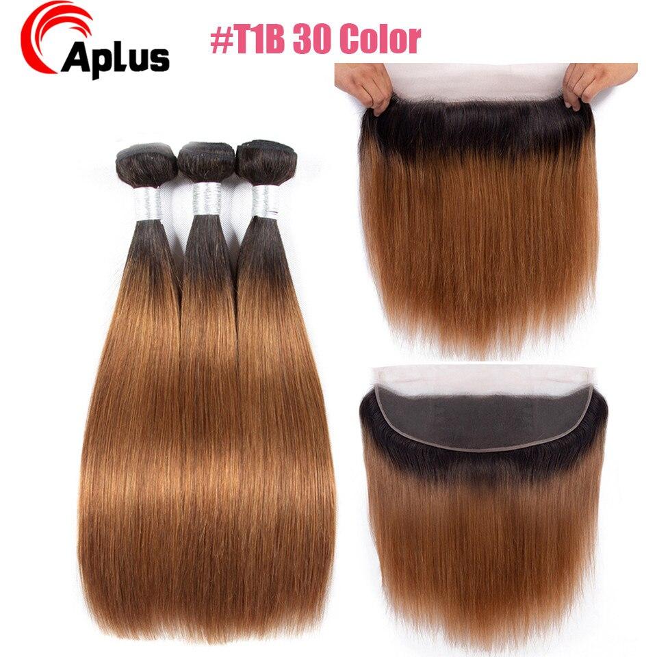 cabelo reto com frontal remy loira cabelo