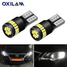 2 pçs t10 lâmpadas led w5w led canbus estacionamento posição luz para alfa romeo 159 147 156 giulietta 166 gt mito iluminação interior do carro