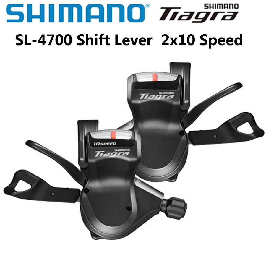 SHIMANO <font><b>Tiagra</b></font> SL 4700 RAPIDFIRE Plus Shift Lever SL-4700 Shift Lever Derailleurs 10-speed 2x10-speed Left And Right image