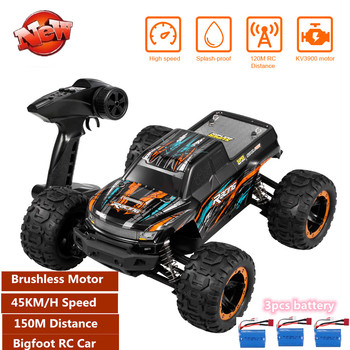 45KM/H High Speed Remote Control RC Racing car Brushless Motor Buggy Off-Road car Bigfoot 4WD RC Race Truck Car RC Racing Car to image