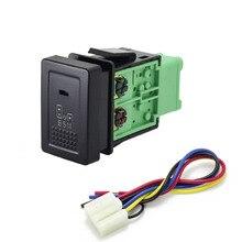 1pc bsm drl led estacionamento radar fonte de alimentação da bateria direção sheel aquecimento interruptor retrovisor botão para nissan X TRAIL 14 20