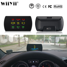P12 Auto OBD2 Digitale OBD Gauge HUD Auto Diagnose Werkzeuge GPS T800 Digital Meter TFT HD Display Für Alle Autos 25 funktionen