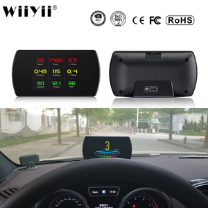 Image 1 - P12 Car OBD2 Digital OBD Gauge HUD Auto Diagnostic Tools GPS T800 Digital Meter TFT HD Display For All Cars 25 Functions