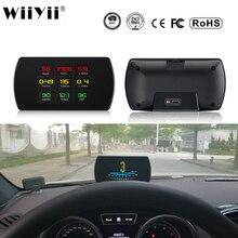 P12 carro obd2 digital obd calibre hud ferramentas de diagnóstico automático gps t800 digital medidor tft hd display para todos os carros 25 funções