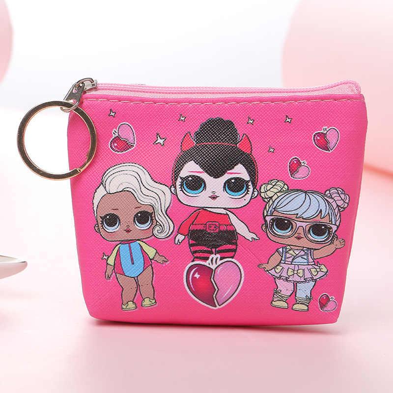 漫画レディガールコインバッグ財布女性財布カードホルダーキー袋マネーの女性の財布キッズバッグ主催