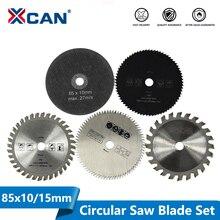 Outil de coupe, lames de scie pour outil électrique multifonctionnel, lame de scie circulaire, disque de coupe du bois de 10mm, 5 pièces, 85mm